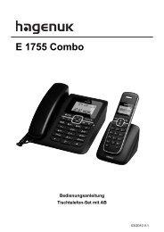 hagenuk Eurofon E 1755 Combo 10.03.2011 V.1.indd - BAS-TEK