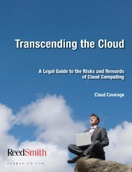 Cloud Coverage - Reed Smith