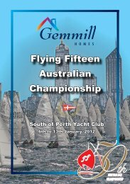 Flying Fifteen Australian Championship - South of Perth Yacht Club