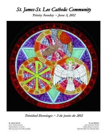 June 3, 2012 - St. James and St. Leo Catholic Community