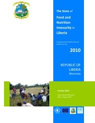 Comprehensive Food Security and Nutrition Survey - WFP Remote ...
