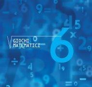giochi matematici - Dipartimento di Matematica - Università degli ...