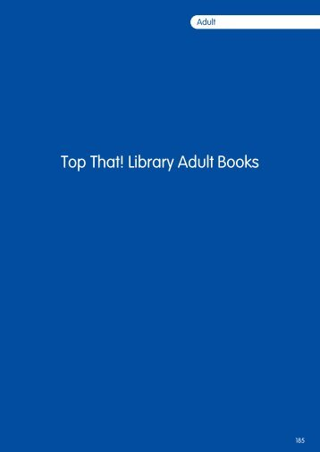 Library Adult Books - Publishing