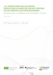 """""""Mit unsereM Know-how und unserer interKulturellen ... - CIM"""