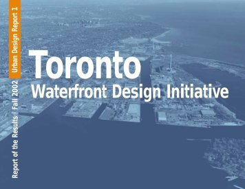 Waterfront Design Initiative - City of Toronto
