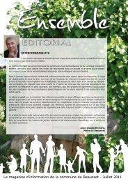 Le magazine d'information de la commune du Beausset - Juillet 2011