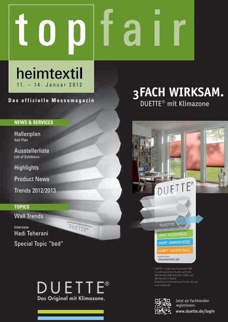 Topfair Heimtextil 2012