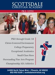 Parent's Resource Guide 2012 Phoenix Metro Edition - Private ...