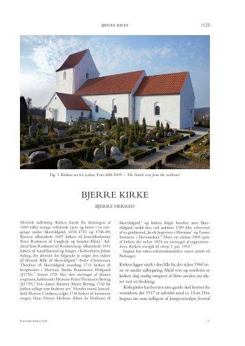 Bjerre KirKe - Nationalmuseet
