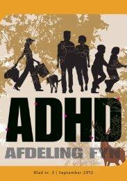 Blad nr. 3 | September 2012 - ADHD: Foreningen