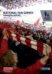 National Fan Survey - 2006/07 - Premierleague.com