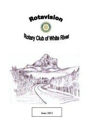 Rotavision - Rotary Club White River