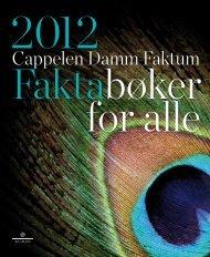 Faktum katalog - Cappelen Damm