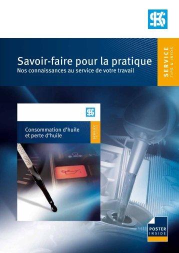 Savoir-faire pour la pratique - MS Motor Service France SAS