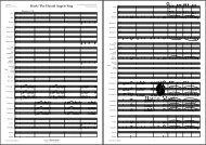 Hark! - Baton Music BM441 - Score