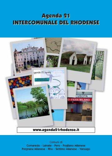 Agenda 21 INTERCOMUNALE DEL RHODENSE Agenda 21 ...