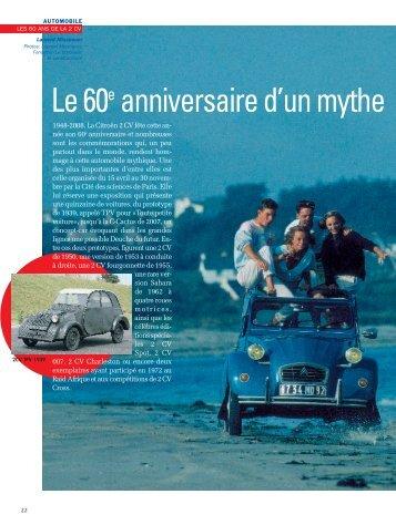 La 2 CV - Magazine Sports et Loisirs