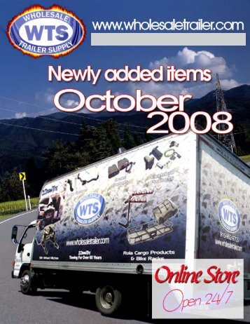 NEW ITEMS FOR AUGUST 2008 - Wholesale Trailer Supply