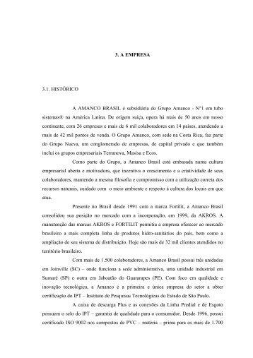 Modelo de Relatário de Estágio - Pergamum.udesc.br