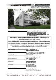 Załącznik nr 1b do SIWZ - STWiORB (pdf) - Bursa Samorządu ...
