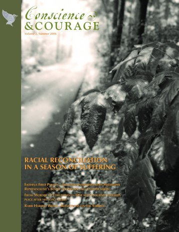 RACIAL RECONCILIATION IN A SEASON OF SUFFERING RACIAL ...