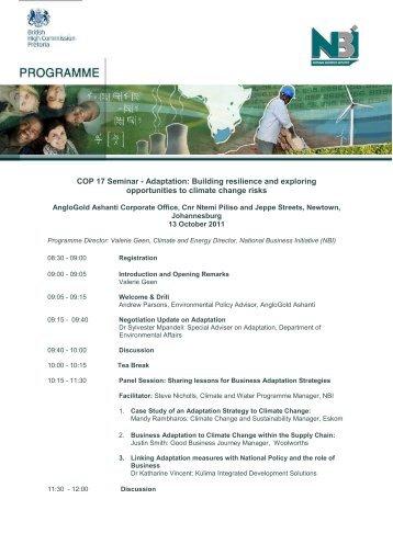 Microsoft Word - Adaptation Programme Final.pdf - National ...