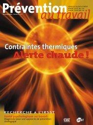 Contraintes thermiques - CSST
