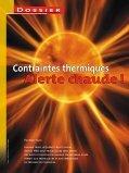 Contraintes thermiques - CSST - Page 7