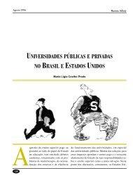 universidades públicas e privadas no brasil e estados unidos - Adusp