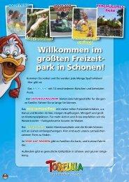 Willkommen im größten Freizeit- park in Schonen! - Tosselilla