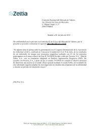 20/07/2012Hecho Relevante - Zeltia