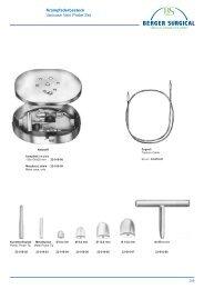 Berger Surgical Katalog 2006 / Catalogue 2006