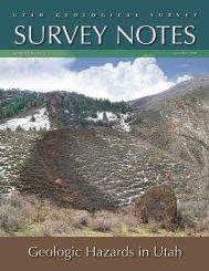Geologic Hazards in Utah - Utah Geological Survey - Utah.gov