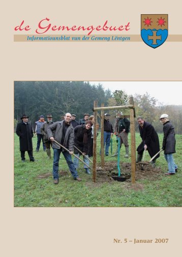 Janvier 2007 - Administration Communale de Lintgen