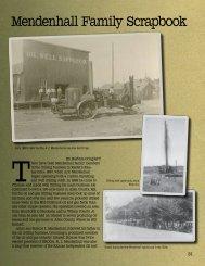 Mendenhall Family Scrapbook - Territorial Magazine