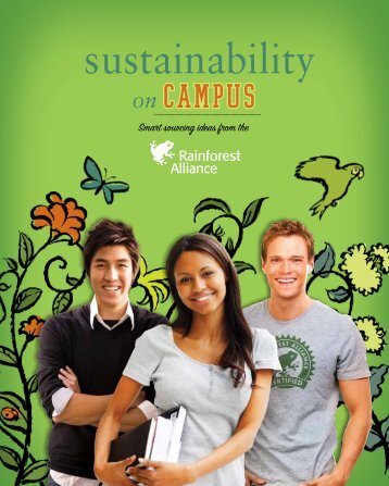 Sustainability on Campus - Rainforest Alliance