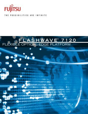 Flashwave® 7120 Overview - JM Fiber Optics, Inc.