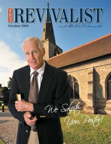 Read the October issue online - God's Bible School & College
