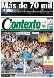 09/06/2013 - Contexto de Durango