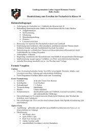 Handreichung zum Erstellen der Facharbeit in Klasse 10 ...