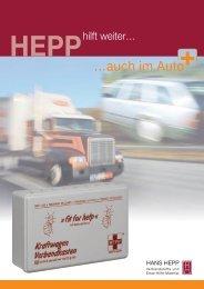 …auch im Auto - Hans Hepp GmbH