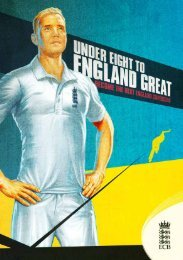 England Cricket Pathway booklet - Ecb