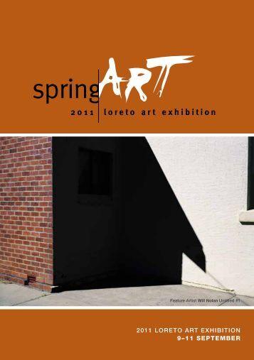 2011 loreto art exhibition - Loreto College