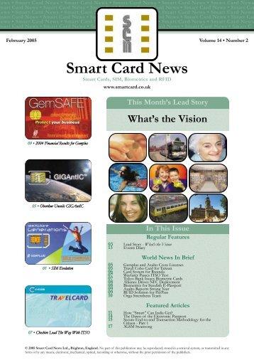 Newsletter - February 2005 - Smart Card News