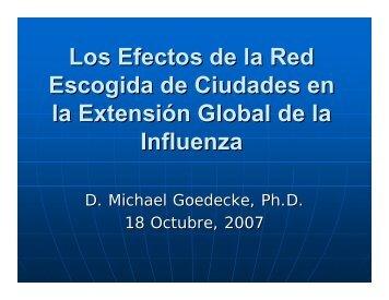 Los Efectos de la Red Escogida de Ciudades en la Extensión ... - ICM