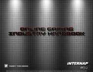 Online Gaming Industry Handbook - Internap