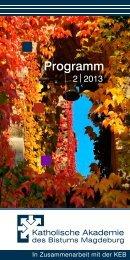 Programm als Heft - Offene Kirche St. Moritz in Halle