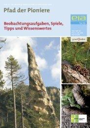 Infomappe Pfad der Pioniere (PDF) - Parc Ela