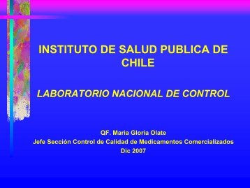 CONTROL DE ESTANTERIA - Organismo Andino de Salud