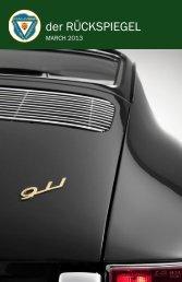 Volume 40 Issue 3, March 2013 - Maumee Valley - Porsche Club of ...